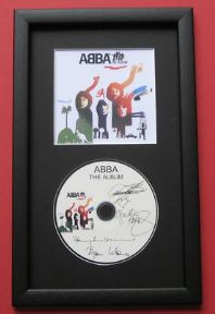 ABBA - The Album CD Disc MEMORABILIA presentation